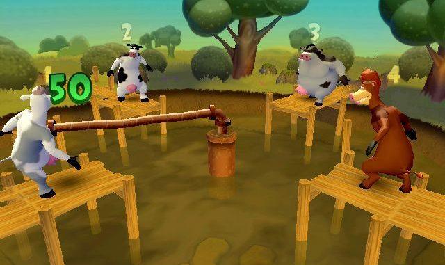 Der tierisch verrückte Bauernhof: Wiii, die Kuh hat mich mit Milch ...