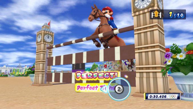 Mario Sonic Bei Den Olympischen Spielen London 2012 Olympia Ist