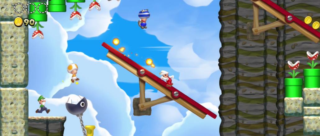 New Super Mario Bros. U: Kommt mit Eisblume, neuer Map und ...