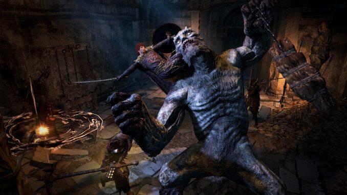 Dragons Dogma Dark Arisen Necrophagous Enemies Gameplay Video