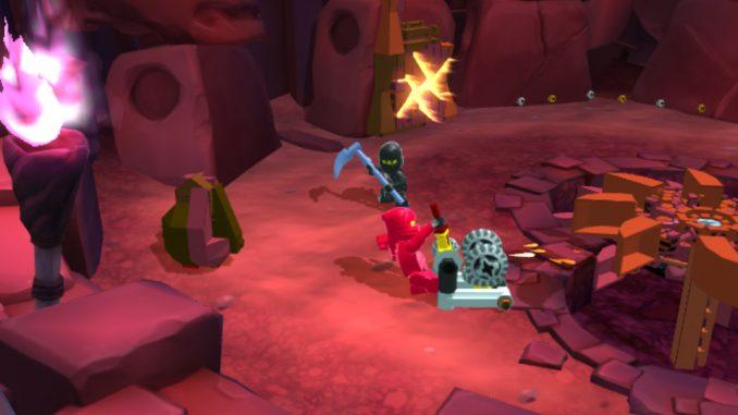 Lego Ninjago Schatten Des Ronin Im Kampf Gegen Einen